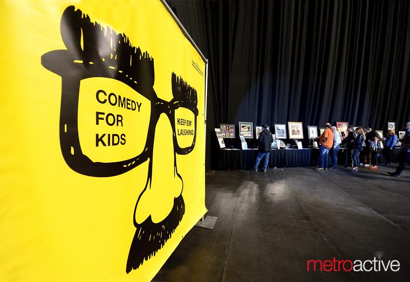 PHOTOS: Keep'em Laughing Fundraiser - SAP Center