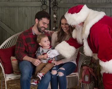 Kehrer Visit with Santa
