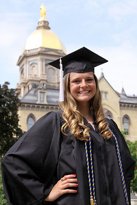 Kelly, University of Notre Dame Graduation - '13