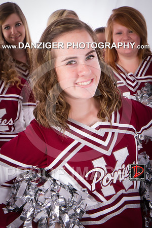 Kellyville 2012 Cheerleaders Middle School