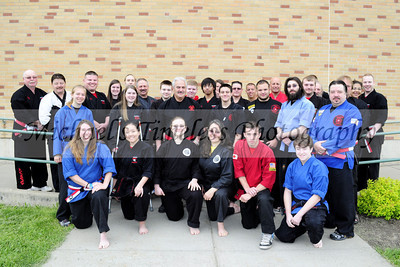 WNY Kempo Karate Black Belts - Grand Master Galati's Tournament, North Collins High School, May 18, 2013 - (4 x 6)