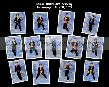 Kempo Martial Arts Academy, May 18, 2013 - 16 x 20