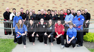 WNY Kempo Karate Black Belts - Grand Master Galati's Tournament, North Collins High School, May 18, 2013 - (10 x 18)