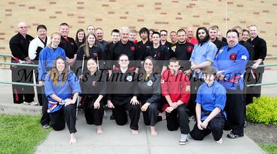WNY Kempo Karate Black Belts - Grand Master Galati's Tournament, North Collins High School, May 18, 2013 - (10 x 18)