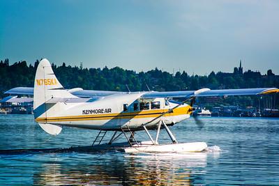 Lake Union Take Off