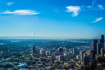 South Seattle Aerial View