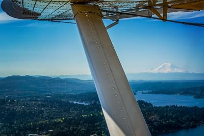 Mount Rainier Flight