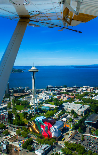 Above Seattle
