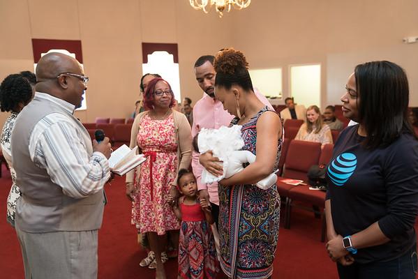 Kennedy Joy Baby dedication at Tabernacle of Praise Christian Church