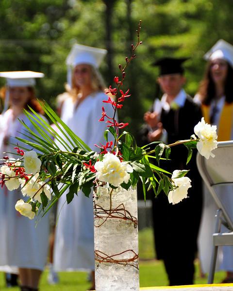 Kennett High School, in North Conway, NH, held graduation ceremonies at Gary Millen Stadium, on Saturday, June 19th, 2010.