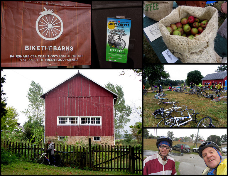 "Kent & Mike ""Bike the Barns"" 2014"
