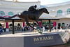 Barbaro Statue outside Churchhill Downs upon arrival at the Kentucky Oaks 126