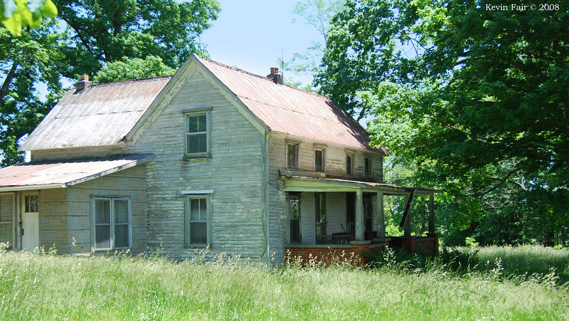 My Great Grand Parents, Henry and Lilly Allen's old house. It's about 1/8 mile from my Grand Parents home. Everyone called them Mam, and Pap.