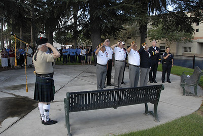 Kerman's Flag-Raising Ceremony on 9/12/11
