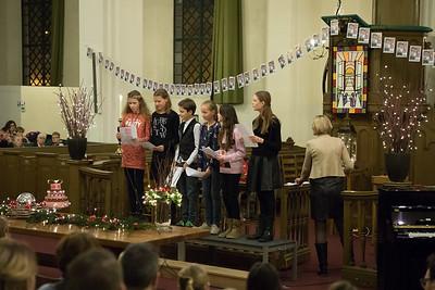 Kerstfeest Regenboog 2016