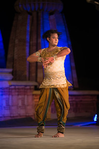 Anuj Mishra, Kathak dancer, belongs to the famous traditional family of musicians, gharana of Varanasi.   Khajuraho Dance Festival 20th Feb'17. Colorful and brilliant classical dance forms of India with roots in the rich cultural traditions offer a feast for the eyes during a weeklong extravaganza. Khajuraho Temples in Madhya Pradesh are popular for their architectural wonders and sculptures.  Anuj is the thirteenth generation of artists in his traditional musical family. Anuj has done Masters in Kathak from Khairagarh University, Madhya Pradesh and now pursuing his P.H.D in Kathak. Anuj is presently artistic director of Kathak Academy and president of Anuj Arjun Mishra dance company (AMC) and also impaneled as established artist in ICCR (Indian council for cultural relation) and main member of CID (International Dance Council) from Europe.