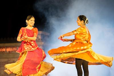 Rachana Yadav, Kathak. Rachana started learning dance under the guidance of Shri. Ravi Jain. The Rachana Yadav Kathak Studio was started in DLF Gurgaon in 2006 for doing extensive work in the field of Kathak: imparting training, creating, innovating and discovering new aspects of Kathak.  Khajuraho Dance Festival 22nd Feb'17.
