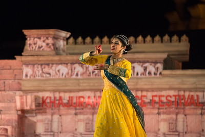 Shinjini Kulkarni is a Kathak dancer who is the granddaughter of Kathak Maestro Pandit Birju Maharaj ji. She is the ninth generation from Kalka Bindadin lineage. She began her training in Kathak dance at the age of five under the tutelage of her grandfather. She began performing at the age of eight, and has ever since been exploring her passion for dance.  Khajuraho Dance Festival 22nd Feb'17. Colorful and brilliant classical dance forms of India with roots in the rich cultural traditions offer a feast for the eyes during a weeklong extravaganza. Khajuraho Temples in Madhya Pradesh are popular for their architectural wonders and sculptures.