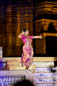 "Geeta Chandran Founder, President, NATYA VRIKSHA, New Delhi.  Khajuraho Festival of Dances is celebrated at a time when the hardness of winter begins to fade and the king of all seasons, spring, takes over. The most colorful and brilliant classical dance forms of india with their roots in the ling and rich cultural traditions across the country, offer a feast for the eyes during a weeklong extravaganza.  Khajuraho is located in the Indian state of Madhya Pradesh and roughly 620 kilometers (385 miles) southeast of New Delhi, the temples of Khajuraho are famous for their so-called ""erotic sculptures"". Khajuraho was the cultural capital of the Chandela Rajputs, a Hindu dynasty that ruled from the 10th to 12th centuries."