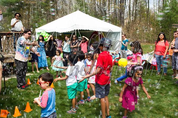 Kiaan's Bubble Party