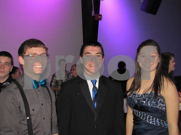 Student Ambassadors for 'It Gets Better Fort Dodge & Beyond' Dalton Holdredge, John Michael-Li, and Mary Claire Li.