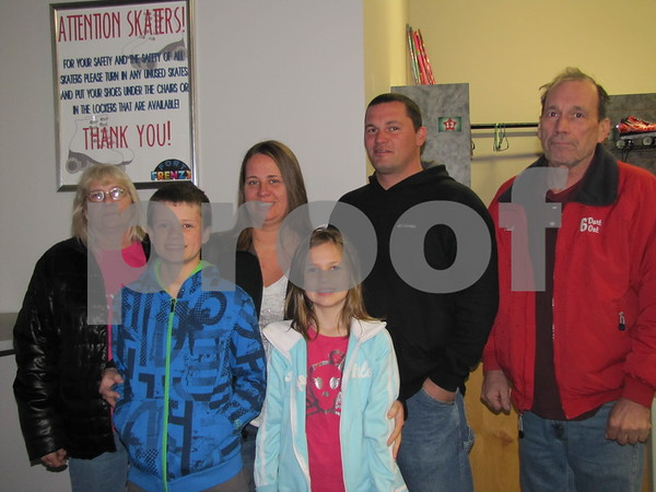 The Crimmins family attended the awards ceremony for IGBFD&B.