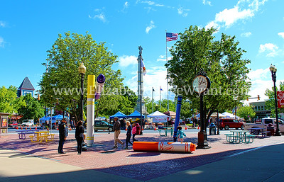 Easton Farmers Market, Easton, PA  5/25/2013 Orr's / Bixlers Clock