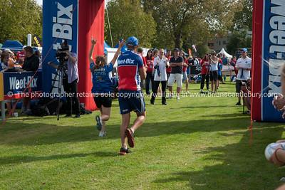 Weetbix Kids Tryathlon, 2012,Tauranga's  Memorial Park.Finishingline. ALSO SEE; http://www.blurb.com/b/3811392-tauranga