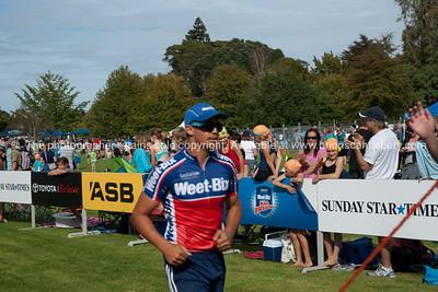 "Weetbix Kids Tryathlon, 2012,Tauranga's  Memorial Park.Finishing with the ""Weetbix man"". ALSO SEE; http://www.blurb.com/b/3811392-tauranga"
