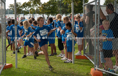 Weetbix Kids Tryathlon, 2012,Tauranga's  Memorial Park. Starting the running leg. ALSO SEE; http://www.blurb.com/b/3811392-tauranga
