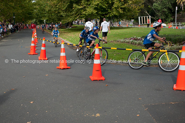 "Weetbix Kids Tryathlon, 2012, Tauranga, contestants start the cycle leg. Tauranga's  Memorial Park. ALSO SEE; <a href=""http://www.blurb.com/b/3811392-tauranga"">http://www.blurb.com/b/3811392-tauranga</a>"