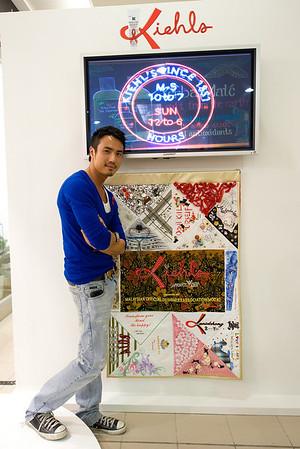 Kiehl's & Malaysia Top Fashion Designers