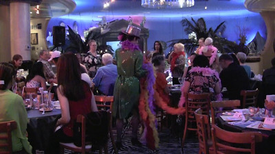 VIDEO of Kiki Kalor Performing with members of the Lions Club at Planet Hollywood in Caesar's Casino Las Vegas.