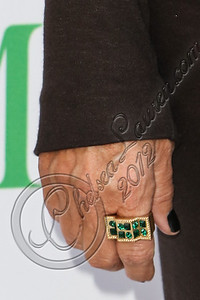 SANTA MONICA, CA - SEPTEMBER 25:  Television personality Kris Jenner (jewelry detail) attends Kin Kardashian hosts the Midori Makeover Parlour at Fred Segal on September 25, 2012 in Santa Monica, California.  (Photo by Chelsea Lauren/WireImage)