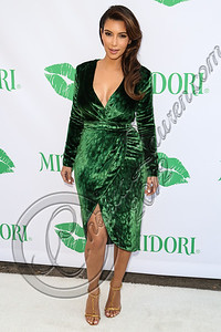 SANTA MONICA, CA - SEPTEMBER 25:  Television personality Kim Kardashian hosts the Midori Makeover Parlour at Fred Segal on September 25, 2012 in Santa Monica, California.  (Photo by Chelsea Lauren/WireImage)