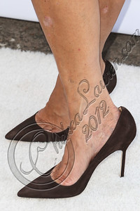 SANTA MONICA, CA - SEPTEMBER 25:  Television personality Kris Jenner (shoe detail) hosts the Midori Makeover Parlour at Fred Segal on September 25, 2012 in Santa Monica, California.  (Photo by Chelsea Lauren/WireImage)