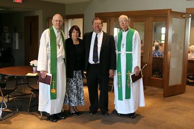 Pastor Milz 20th anniversary