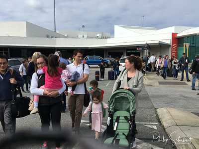 Perth Airport Terminal 3 Evacuation