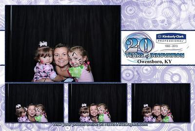 Kimberly-Clark 20 Year Celebration
