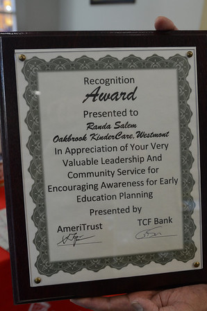 KinderCare Director receives award