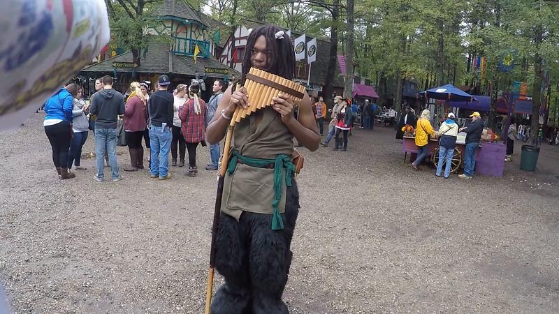 Pan Flute Walker