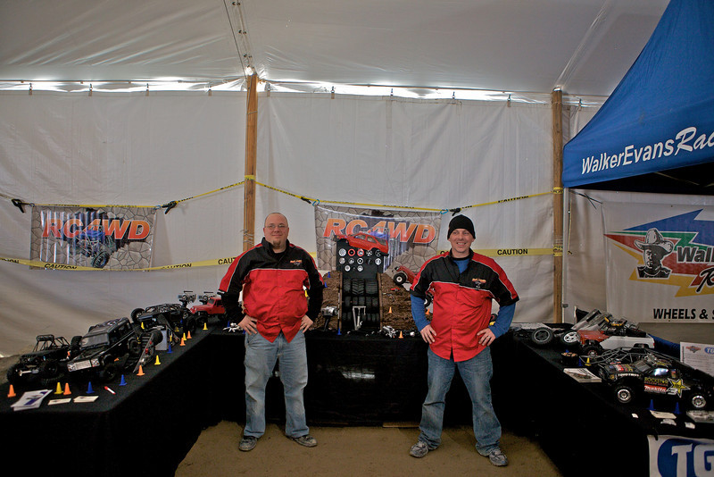 Tom (to the left) and Rob running what I believed to be the coolest booth at the show.