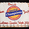 BUR/BED Customer Service Week 2016 celebration cake