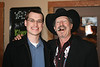 Nathaniel and Kinky Friedman