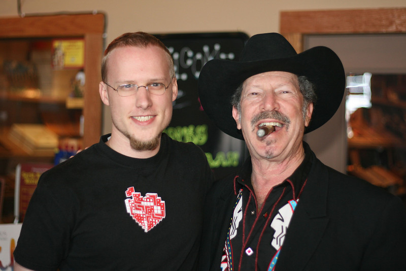 Caleb and Kinky Friedman