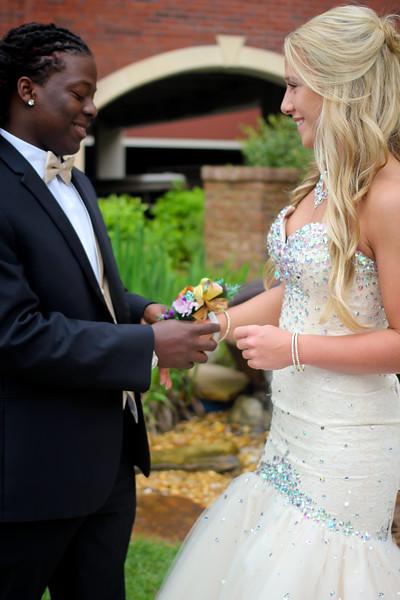 Kirey and Jessica's prom2015