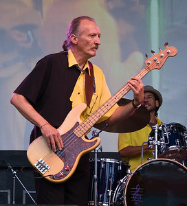 """Col."" Bill Singletary on bass and Nick Otis on drums"