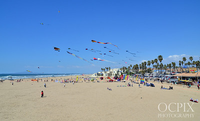 2013 Kite Party in Huntington Beach