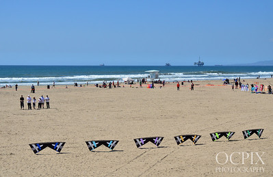 Kite Party in Huntington Beach