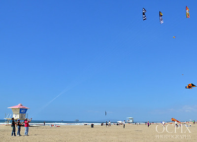 Huntington Beach Kite flying
